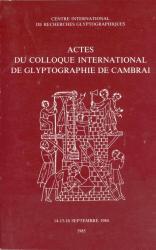 Actes Colloque Cambrai