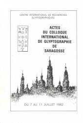 Actes Colloque Saragosse