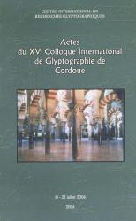 Actes Colloque Cordoue