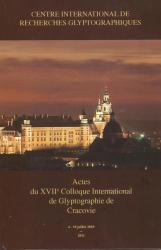 Actes XVII colloque Cracovie